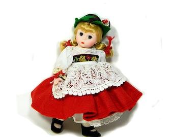 """Madame Alexander 8"""" Switzerland International Doll"""