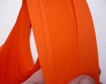 Deep Orange~ Weaving Star Paper (50 strips)