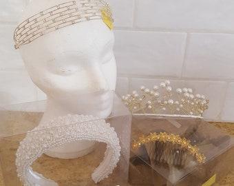 Bridal headdresses & Tiaras