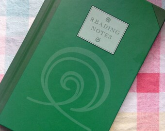 Reading Notes - a little book to keep track of all the books you read