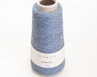 Rowan Denim Lace-0006 Harbor Fog