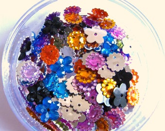 100 pcs mix Sew on Rhinestones