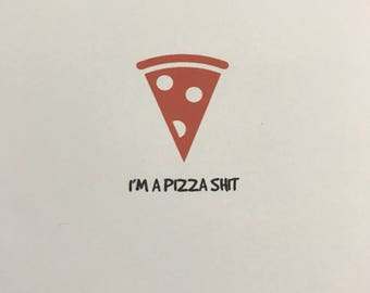 Pizza Apology Card
