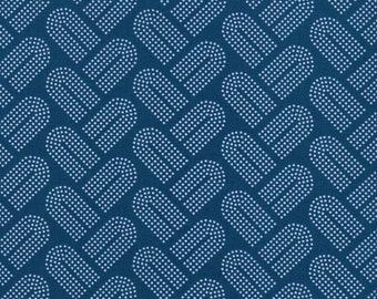 Cotton Steel Fabric, Macrame, Choose Teal, Pink, Navy Blue, Gold, Modern Quilt Fabric, Sewing Material, Fat Quarter, Half Yard, By The Yard