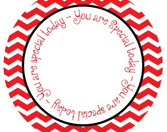 Customized Personalized Melamine Plate - You are Special today!