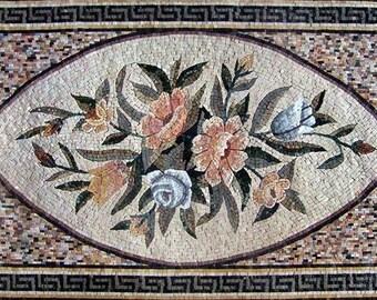 Pattern Mosaic Tile Rug Design