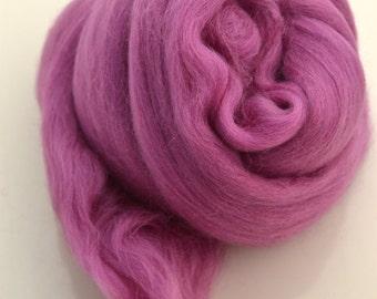 ORCHID PURPLE - Merino Wool Roving 1/4oz,  1/2oz or 1oz