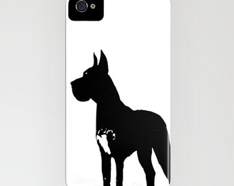 Great Dane Dog on Phone Case -   pet dog, great dane iPhone 6S, iPhone 6 Plus, Gifts for Pet Lovers, iPhone 8
