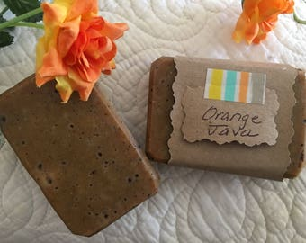 Orange Java Bar Soap