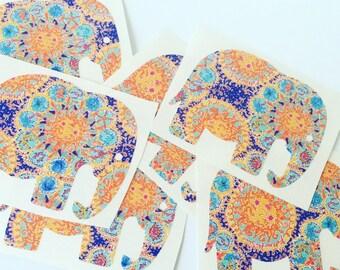 Lilly Pulitzer vinyl elephant decal