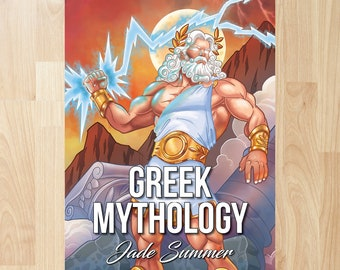 Greek Mythology by Jade Summer (Coloring Books, Coloring Pages, Adult Coloring Books, Adult Coloring Pages)