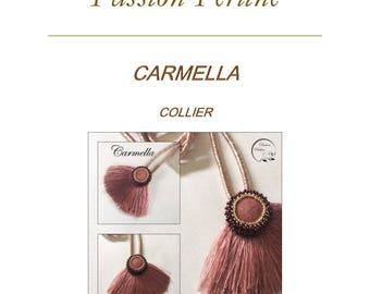 Pattern necklace CARMELLA