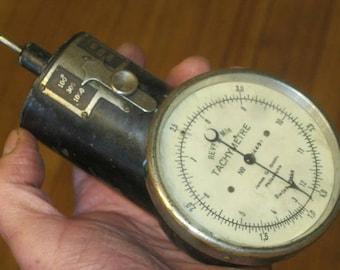 Steampunk Gauge , Cosplay , Tachymetre , Tachometer , Machinist Instrument, Industrial