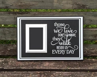 Funeral gift - Memorial gift - Sympathy gift - In Memory of Dad - In Memory of Mom - Remembrance gift - Those we love don't go away