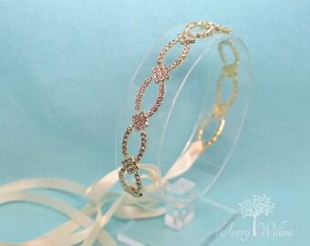 Gold Wedding Headband - Bridal Headband - Prom Headband - Photo Prop - Wedding Accessory - Wedding Headpiece - Bridal Headpiece - Bridesmaid