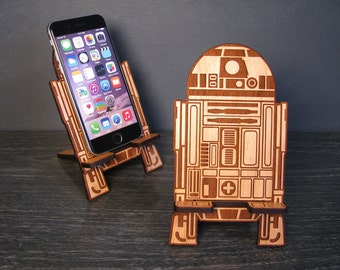 I'm The Droid You're Looking For - Personalized Star Wars R2-D2 Universal Phone Stand Dock - Valentines Day Gift Idea