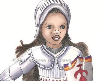 Joan of Arc 8x10 Art Print