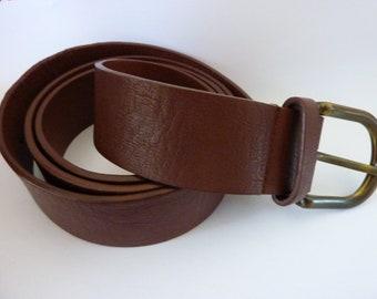 Belt Leather brown Women Men