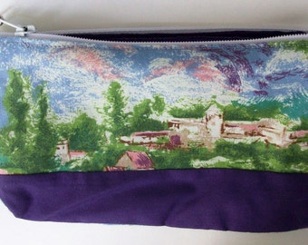 Purple Village Wallet