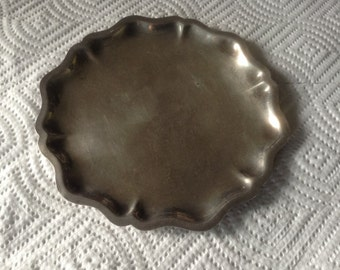 Lovely Vintage Webster Wilcox Silverplate Serving Side Dish #6048