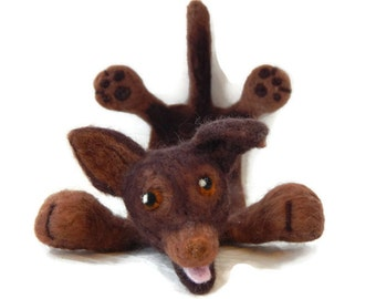 Personalised  Dog Bookmark, Splat Australian cattle dog Bookmark, cattle dog personalised bookmark, Customized dog bookmark - pet lover gift