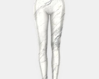 White Marble Leggings Grunge Clothing funny fun tumblr hipster swag grunge goth punk new retro vtg