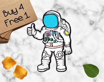 Space Patches Astronaut Patches Space Explorer Patch Cute Patches Iron On Patch Embroidered Patch Sew On Patch Patches for Jackets