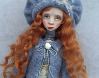 Art doll ,ooak doll ,collecting doll ,paper clay doll ,clay doll ,human figure doll ,artclay doll