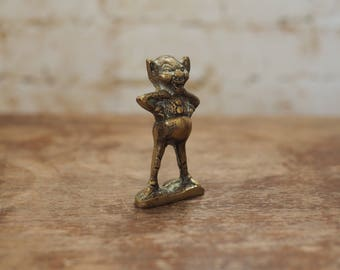 Brass Mischievous Imp Ornament