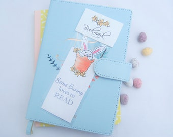 Easter gift Bookmark Easter basket filler Bunny Bookmark Childrens easter gift Easter Bunny gift