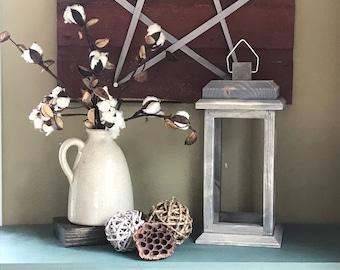 Lantern Centerpiece - Rustic Lantern - Wood Lantern - Wedding Lantern - Rustic Wedding Decor - Wedding Decorations - Wedding - Farmhouse