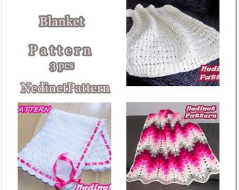 Crochet blanket pattern, crochet pattern, crochet afghan pattern, Instant Download pdf pattern,