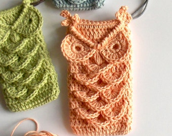 Florence The Owl - Crochet Drawstring Pouch Pattern