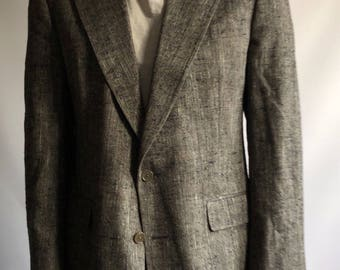 Christian Dior Le Connaisseur 100% Silk Grey Blazer Men's M L 40 42