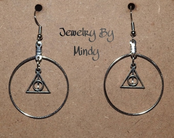 Harry Potter Inspired DH Hoops