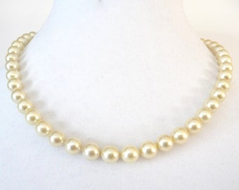 Hobe Majorca Pearl Necklace from Majorca Spain with Tags Vintage from TreasuresOfGrace