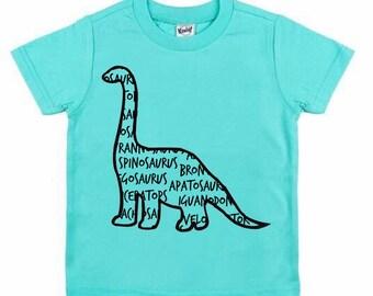 Brachiosaurus tee for infants, toddlers, children / dinosaur shirt / brachiosaurus shirt / brontosaurus shirt