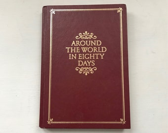 Around the World in Eighty Days by Jules Verne 1990 Octopus Books