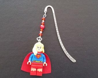 SUPERGIRL Minifigure Bookmark Great Gift Idea