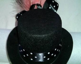Mini top hat headband