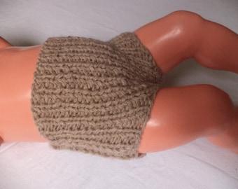 Baby shorts wool knit pants