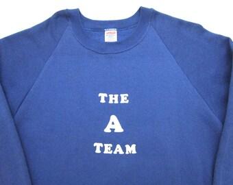 Vintage 1980s THE A TEAM Sweatshirt M ~ MINT