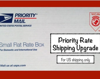 Priority Mail Flat Rate Upgrade