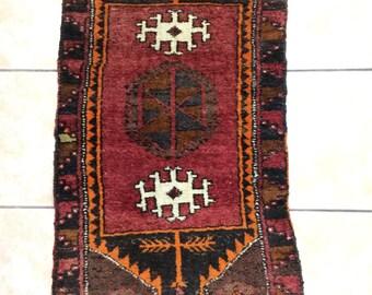 anatollion carpet pillow,handmade carpet pillow,claret red carpet pillow
