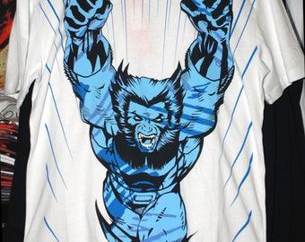 Wolverine t-shirt Logan X-Men Jean Grey Phoenix