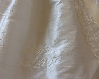 Personalisation for Christening gown, Christening Dress, Christening Romper - First Blessings