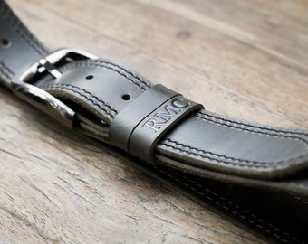 Mens Leather Belt, The Manly Man's Belt, Strong, Rustic, Built to Last #092