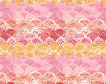 Hello World Good Day - Itty Bitty in Pink by Cori Dantini for Blend Fabrics