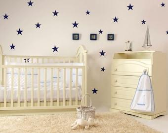 Nursery Decals - Nursery Wall Stickers  - Vinyl Star Decals 0026