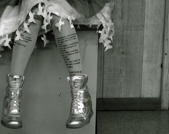 Personalized Text / Custom Text Tights / Poem Text Tights / Design Your Own Custom Tights / Custom Design